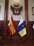 spanische Flaggen