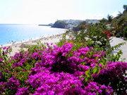 Blick auf den Strand von Morro Jable