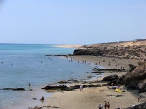 Playa Esmeralda auf der Kanareninsel Fuerteventura