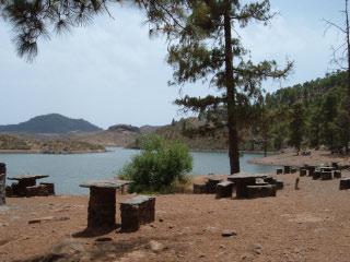 Camping am Presa de las Ninas