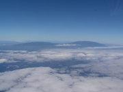 La Palma vom Flugzeug aus gesehen