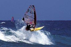 Windsurfer am Pozo Izquierdo