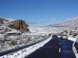 Pico del Teide im Winter