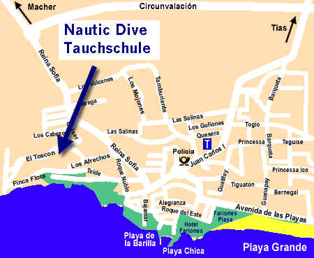 Karte für Nautic Dive