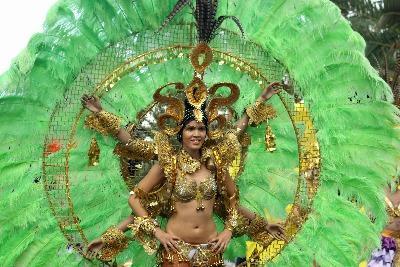Karneval in Santa Cruz auf Teneriffa