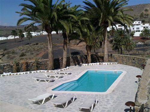 Finca auf Lanzarote Landhaus am Pool in Haria