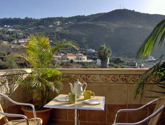 Ferienwohnung Appartments Los Faroles - Studio mit Terrasse - Teneriffa Nord