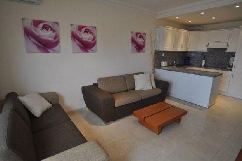 Teneriffa Ferienwohnung Fewo Pal Mar - Wohnzimmer mit Wohnküche