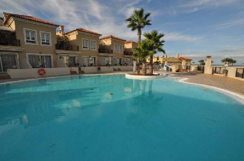 Teneriffa Ferienwohnung Fewo Pal Mar - die Apartmentanlage mit Pool