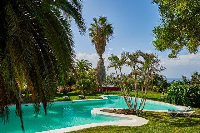 Fincawohnung auf La Palma Finca Tazacorte - Appartment Haus Silvester I in Puerto Naos/Tazacorte