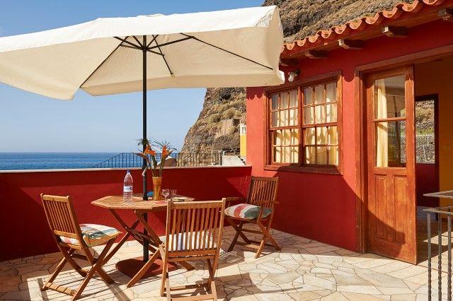 Ferienwohnung Fewo im roten Haus - La Palma