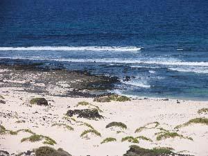 Lanzarote - Strand bei Orzola