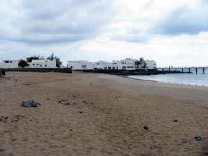 Strand von Arrieta auf Lanzarote