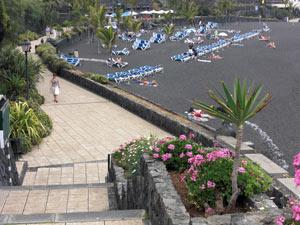 Teneriffa Strand Playa Jardin in Puerto de la Cruz