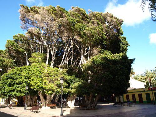 Plaza in San Sebastian auf La Gomera