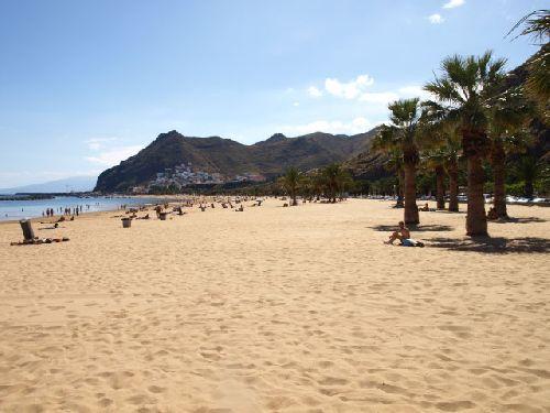 Playa Teresitas auf Teneriffa