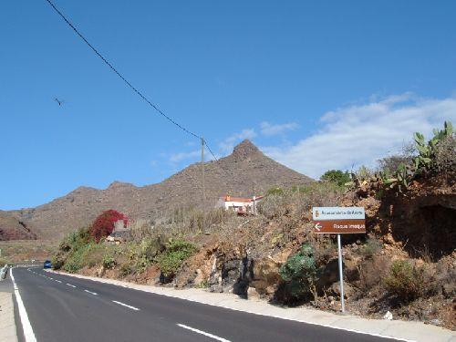 Roque Imoque - Beginn der Wanderung