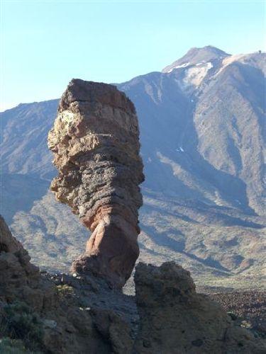 Teide und Gottesfinger auf Teneriffa