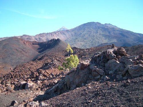 Blick yum Montaña de La Botija
