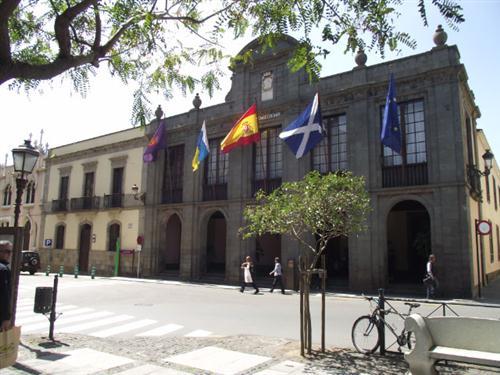 Ayuntamiento von La Laguna auf Teneriffa