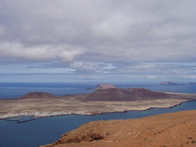 La Graciosa - Blick von Lanzarote aus
