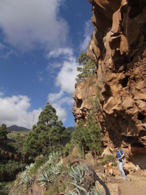 Teneriffa Wanderung - Los Brezos bei Candelaria