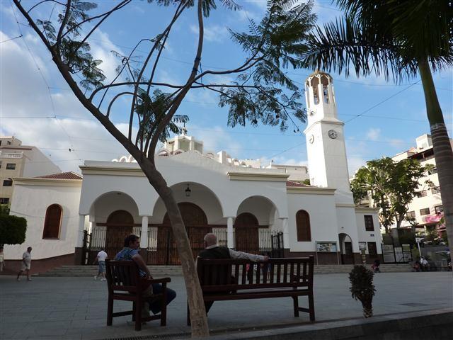 Kirche in Los Cristianos auf Teneriffa