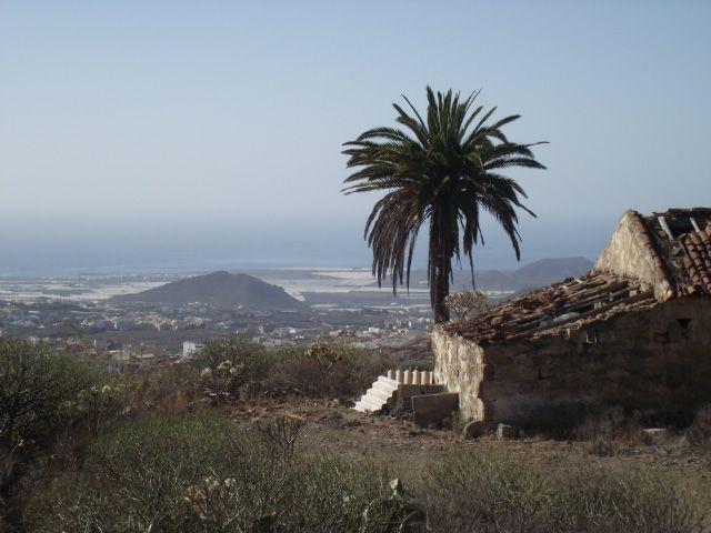 Blick nach Valle San Lorenzo auf Teneriffa