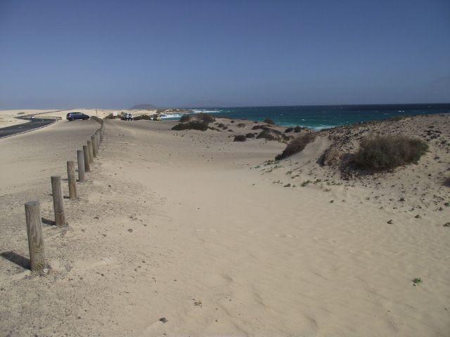 Strand von Corralejo auf Fuerteventura