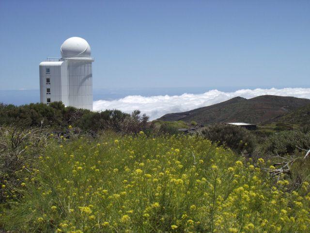Teil des Observatoriums auf Teneriffa