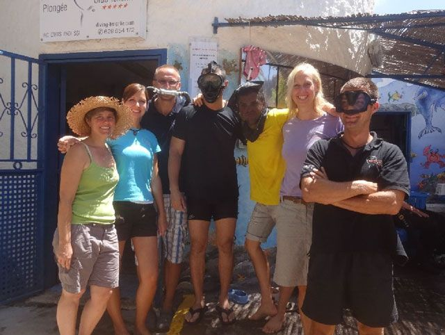 Das Team von Aquanautic Dive Center Tenerife