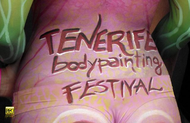 1. Internationales Bodypainting Festival in Teneriffa