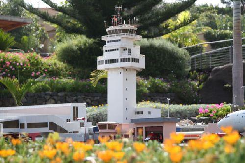 Flughafen auf Teneriffa - Miniatur Abbildung