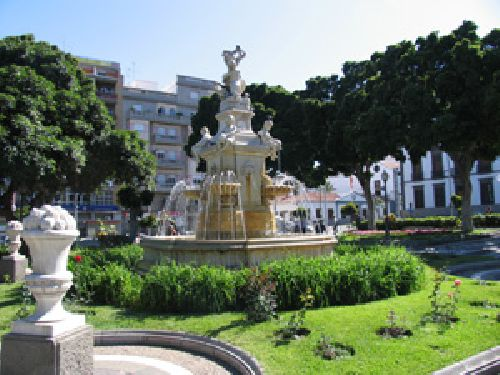 Brunnen in Santa Cruz
