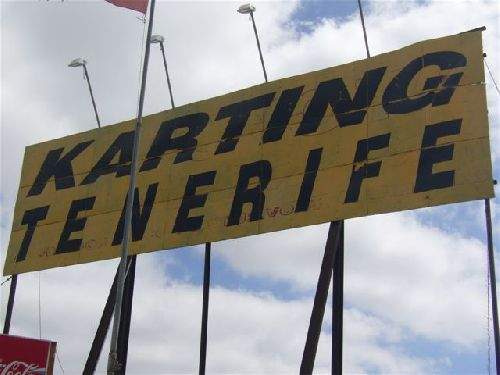 Karting Bahn Teneriffa
