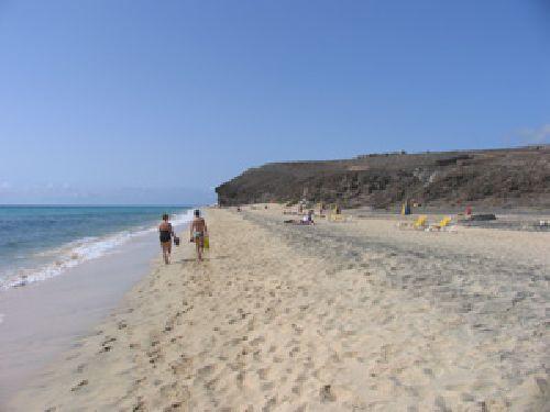 Strand Mal Nombre auf Fuerteventura