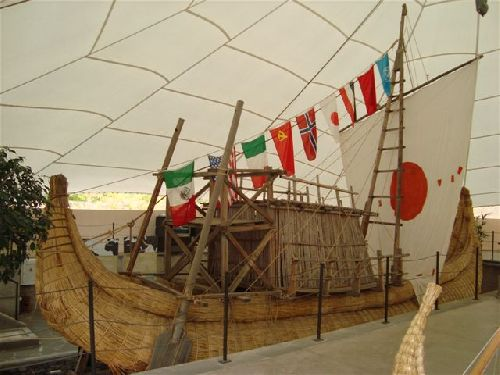 Pyramiden Teneriffa - Thor Heyerdahl - RA II