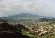 Blick auf La Laguna vom Anagagebirge aus.