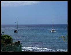 Einsame Bucht entang der Südost-Küste Teneriffas.