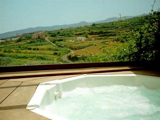 Finca mit Garten - Haus Pflaume auf Teneriffa Nord in Los Realejos