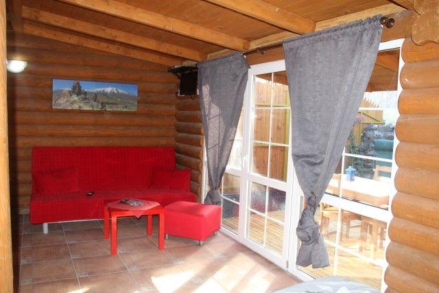 Casas en Madera - Kleiner Bungalow auf Teneriffa Süd in Abades