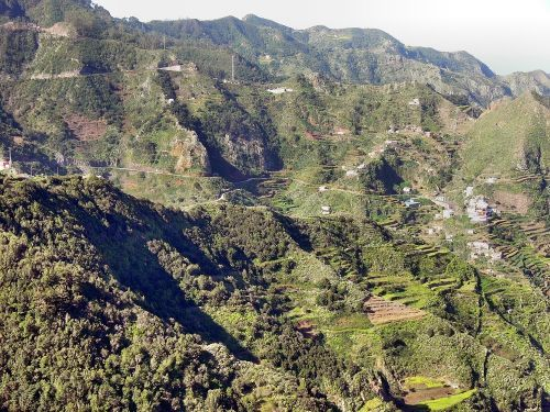 Wandern zum Höhlendorf Chimanada auf Teneriffa