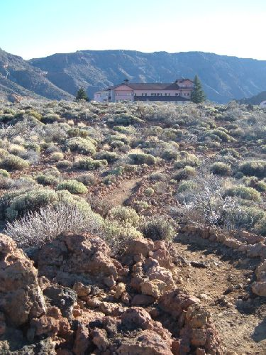 Parador im Teide Nationalpark