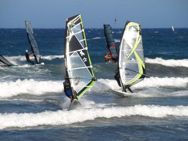 Windsurfen auf Teneriffa