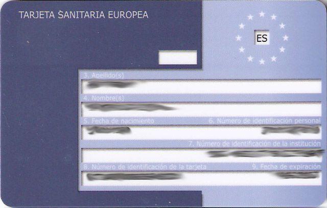 Spanische Krankenversicherungskarte (EKVK)
