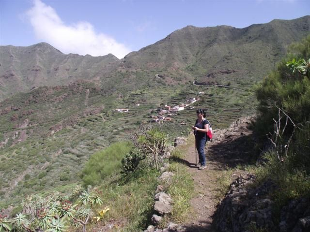 Wanderweg auf Teneriffa zur Casa Abache