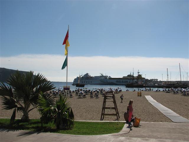 Playa de los Cristianos auf Teneriffa