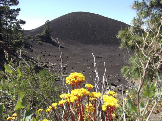 Blick auf den Vulkan Garachico auf Teneriffa