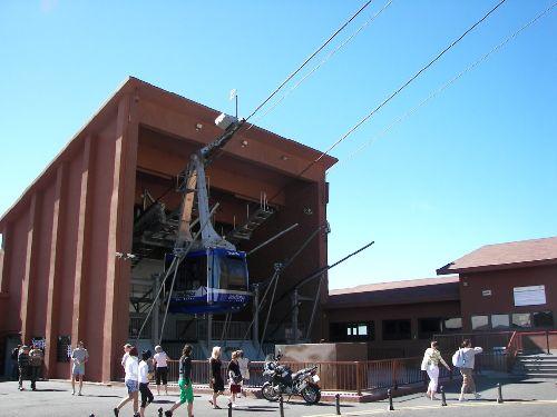 Teneriffa - Teide Seilbahnstation