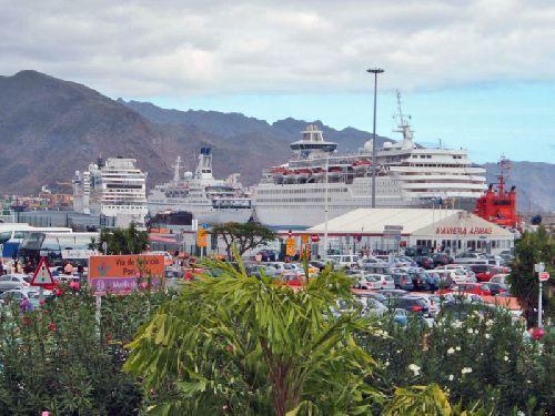Teneriffa Kreuzfahrtschiffe und Luxusliner - Hafen